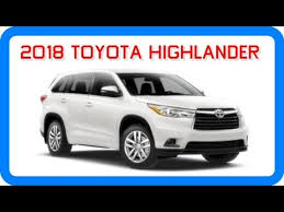 2018 toyota highlander limited. modren 2018 for 2018 toyota highlander limited d