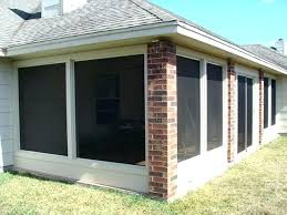 screen porch systems aluminum also panels for all types of openings frame framing system62