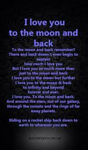 Quote I Love You To The Moon And Back Unique I Love You To The Moon And Back Quotes Will Love You To The Moon