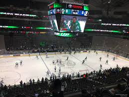 American Airlines Center Section 211 Dallas Stars