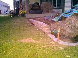 block patio slope question