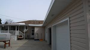 under soffit lighting. View 1: Under Soffit Lighting Is A Great Way To Light Up Your Yard. In This Photo, Lights Are Located On The Garage And Deck For Full Coverage F