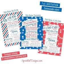 patriotic invitations templates red white and blue 1st birthday invitations of birthday invitations