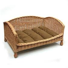 wicker dog bed. Contemporary Bed Luxury Wicker Dog Bed  Fernieu0027s Choice Classic Country Wear For Dogs Throughout
