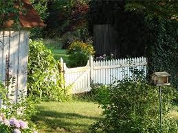 picket fences arbors for a cottage