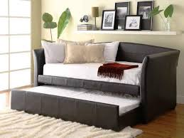 daybed with pop up trundle bed grey