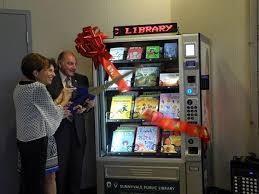 California Vending Machine Amazing First Vending Machine Library Opens In Santa Clara County