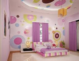 Bedroom Pink Painting For Fair Childrens Bedroom Wall Painting Ideas