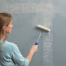 Small Picture Beautiful Wall Painting Stencils to Play Up The Walls According To