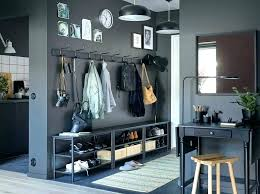 storage benches with coat rack entryway storage bench with coat rack ikea