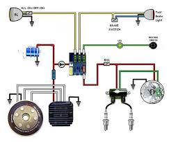 12 best useful information for motorcycles images on pinterest Klr650 Goldwing Wiring Diagram kick start only? and a wiring diargam for dummies page 2 xs650 forum Kawasaki Wiring Schematics