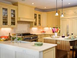Granite With Cream Cabinets Formica Countertops Hgtv