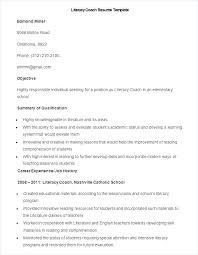 Sample Coaching Resume