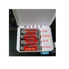 Box sạc dự phòng cho pin tiểu AA 4 khe pin