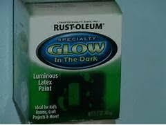 rust oleum glow in the dark paint flower pots. glow in the dark paint rust oleum flower pots