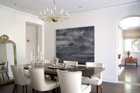 nailhead dining chairs dining room. Beige Leather Dining Chairs Room Transitional With Ceiling Regard To White Nailhead Chair L