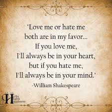 Love Me Or Hate Me Quotes Best Love Me Or Hate Me Both Are In My Favor ø Eminently Quotable