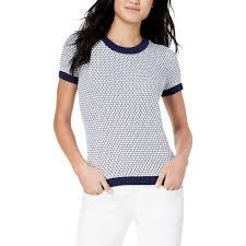 Maison Jules Size Chart Maison Jules Patterned Ringer Sweater Sweaters Apparel