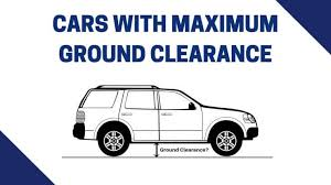 Top 57 Indian Cars With Maximum Ground Clearance Highest