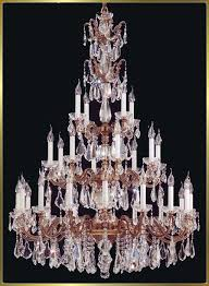 model from our large crystal chandeliers gallery has antique brass finish with 28 lights