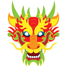 template of a dragon chinese dragon mask template free printable papercraft templates
