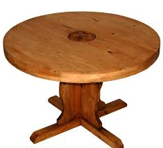 rustic round table. 48\u2033 Round Table W/Star On Top Rustic