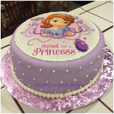 21 Wonderful Picture Of Princess Sofia Birthday Cake Birijuscom