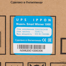 Источник бесперебойного питания Smart Winner - Ippon