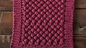 Free Knitting Patterns For Dishcloths Magnificent Knit Loganberry Dishcloth [FREE Knitting Pattern Video Tutorial]