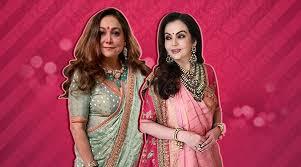 Nita Shah Designer Akash Ambani Shloka Mehta Pre Wedding Bash Heres What Nita