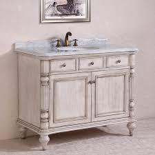 single sink white bathroom vanity. carrara white marble top single sink bathroom vanity in antique 2