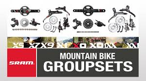 Sram Mountain Bike Groupset Guide