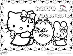 Hello Kitty Printable Coloring Page Johnnyknives Co