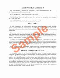 Sample Asset Purchase Agreement Asset Purchase Agreement Template Inspirational Asset Transfer And 23