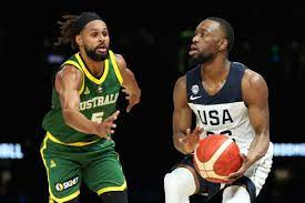 Patrick sammie mills is an australian professional basketball player for the san antonio spurs of the national basketball association. Team Usa Dominates Australia In The Second Half To Win First Exhibition 102 86 Pounding The Rock