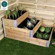 3 tier stackable raised bed whitehall