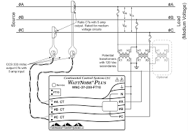 Circuit large size using potential transformers continental control systems figure monitoring a delta circuit