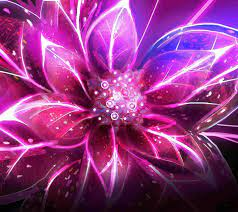 Neon Pink Floral Wallpapers - Top Free ...