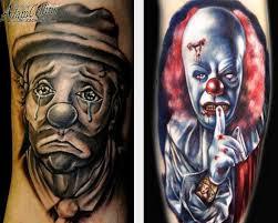 Tattoo Clown Bedeutung Tattoo Skizzen Und Fotos