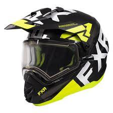 Fxr Torque X Evo Snow Helmet Electric Shield Revzilla