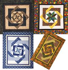 Labyrinth Quilt Pattern By Debbie Maddy, Calico Carriage (CCQD 141 ... & Click to enlarge. Labyrinth Quilt Pattern ... Adamdwight.com