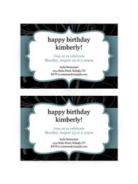 Party Rsvp Template Rsvp Cards Watercolor Design