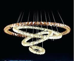 crystal ring chandelier new 3 ring led crystal chandelier circles modern diamond lights chrome 8 light crystal ring chandelier