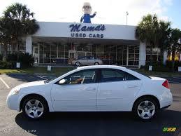 2009 Summit White Pontiac G6 V6 Sedan #22002665 | GTCarLot.com ...