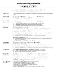 Good Engineering Resume Examples Civil Engineer Objective Resume Savebtsaco 18