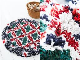 circular rag rug