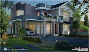 awesome night view elevation of 2720 sq ft home home