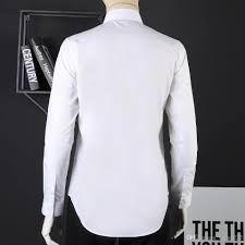 Long Sleeve Designer Shirts 2019 Mens Dress Shirts Brand Shirt Designer Shirt Brand Clothes 039 Male Men Long Sleeve Shirt Hip Hop Style High Quality Cotton 2019 New Arrival From