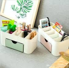 plastic makeup organizer creative plastic cosmetics storage box case makeup organizer desktop drawer bo office desk plastic makeup organizer