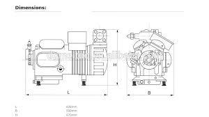 dwm copeland semi hermetic piston hp compressor ddh dwm dwm copeland semi hermetic piston 25hp compressor d4dh2500 dwm copeland compressor model